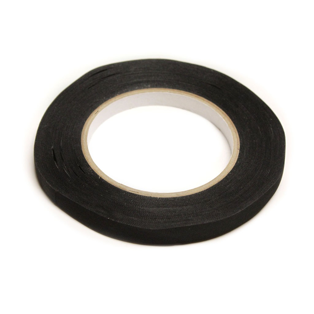 "Lana's Fabric Cold Tape - Black - 3/8"" 50 yds roll"