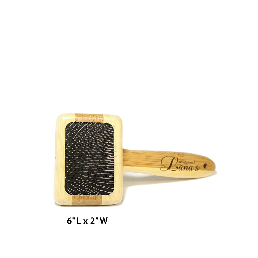 Lana's Bamboo Fur Coat Brush - Small