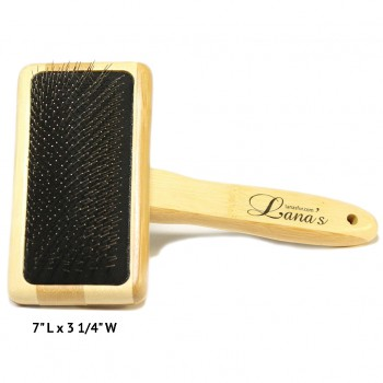 Lana's Bamboo Fur Coat Brush - Large